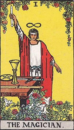 קלף הקוסם - מיצג הפעלה חיובית של העין השלישית