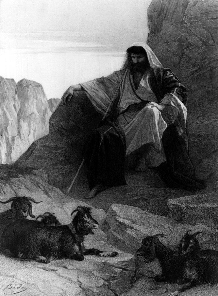 משה - מיצג את ארכיטיפ הנביא ביהדות