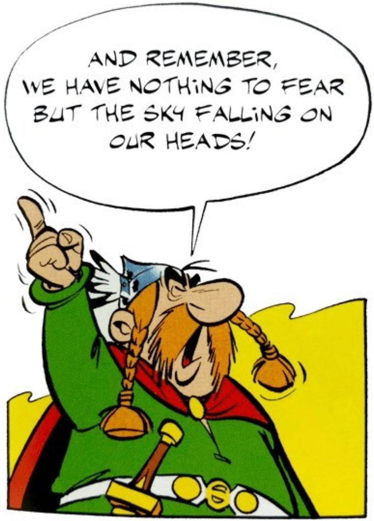 פחד מהצלחה בתרבות הקומיקס